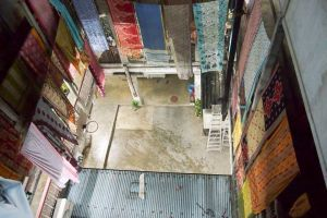Saris at Freeset (taken by a friend