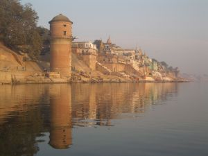 Varanasi from the water