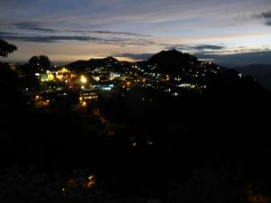 Mussoorie by night