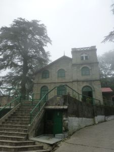One of the churches at Landour