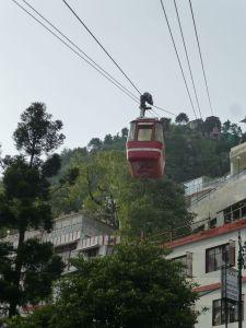 Gondola up Gun Hill