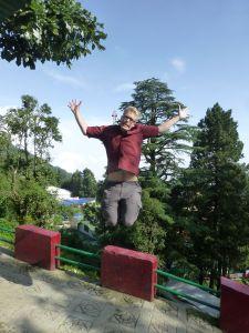 Reuben jumps