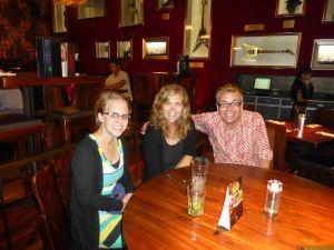 Dinner at the Hard Rock Cafe