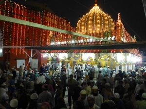 Night at Hazrat Nizamuddin