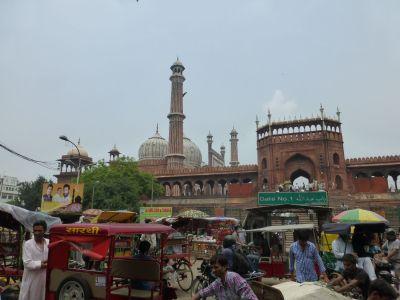Old Delhi and the Jama Masjid