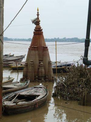 Temples underwater