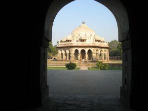 Strolling around Humayun's tomb
