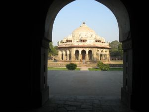 Strolling around Humayun's tomb