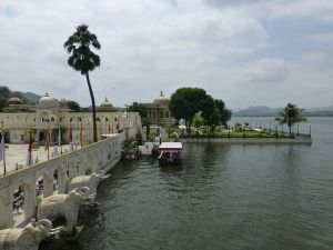 On Jagmandir island
