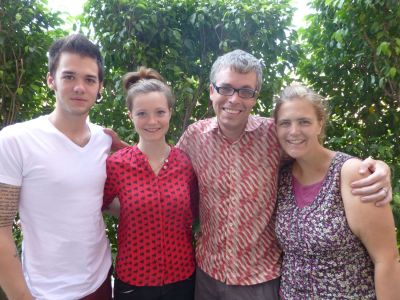 With Nicole and Jordan