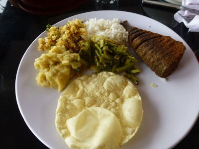Delicious South Indian food