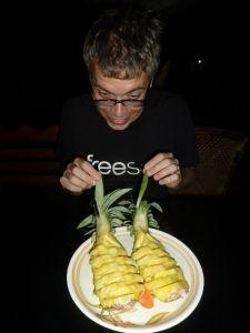 Pineapple for dessert