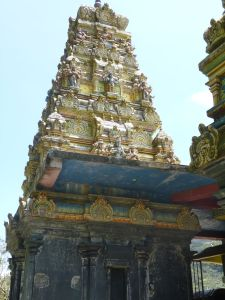 At the Sita temple