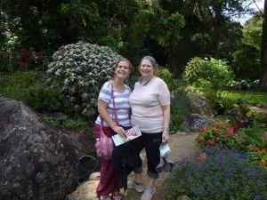 Wandering in the gardens
