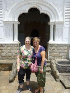Julie and Karen at Dambulla
