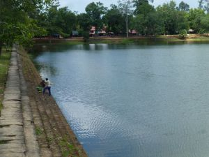 The royal bathing pond Srah Srang
