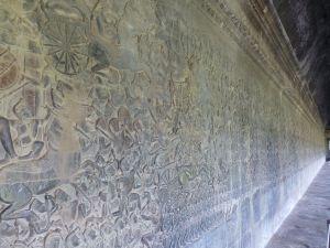 Murals inside
