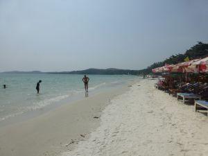 The stunning beach at Koh Samet