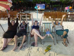 Fun times on the beach