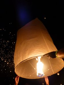 These were big lanterns!