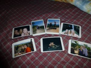 Postcards for family