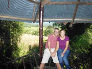 Us in the treehouse
