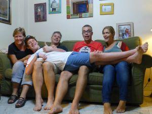 Reunited with Matt, Michelle and Josiah