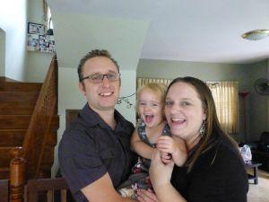 The amazing Claire, Doug and Olivia