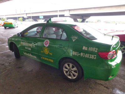 Our green taxi